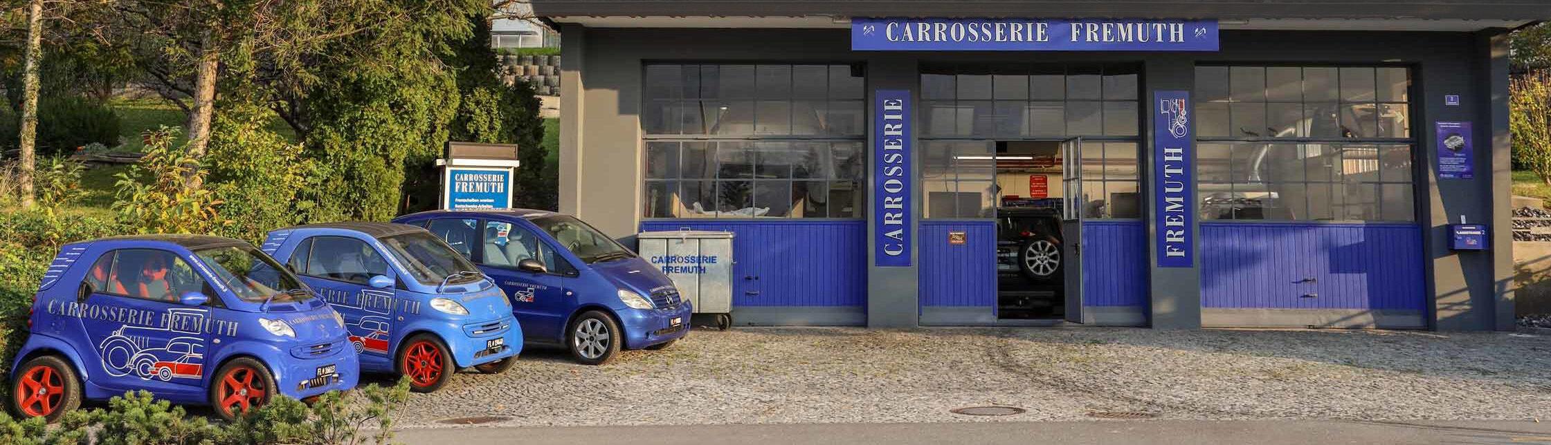 Carrosserie Fremuth | Werkstatt